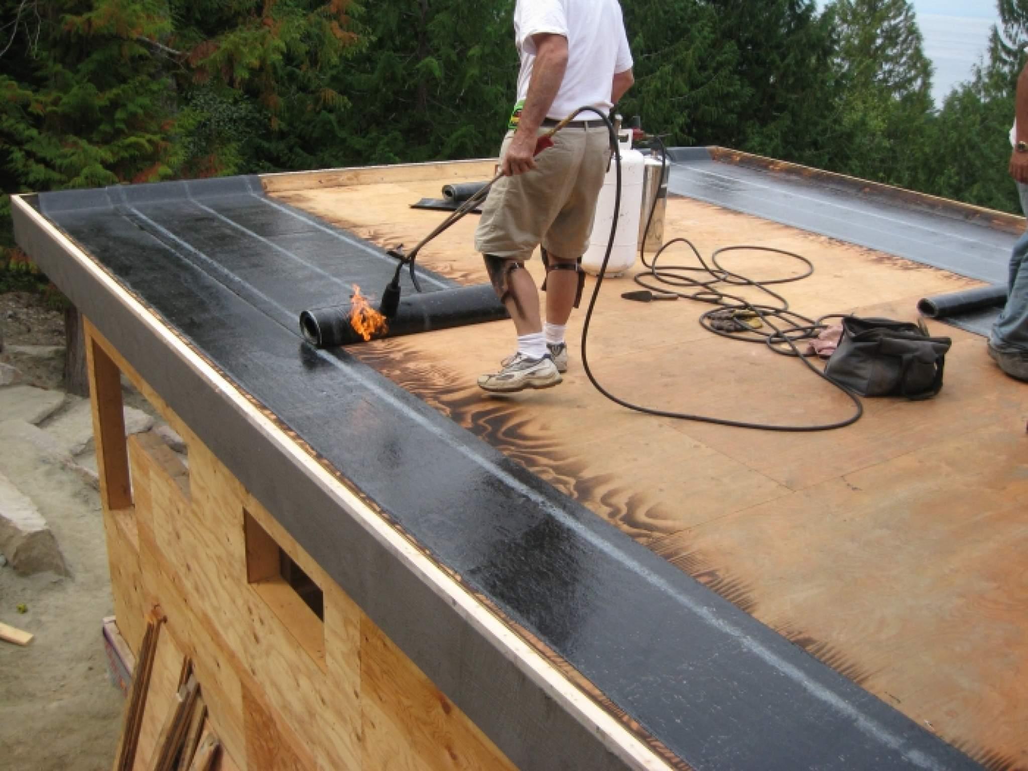 Как крыть крышу бикростом своими руками